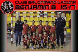 BM Laguna Benjamín B 2-0 Handvall-La Cisterniga