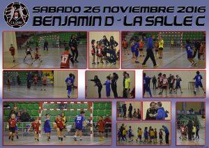 BM Laguna Benjamín D – La Salle C