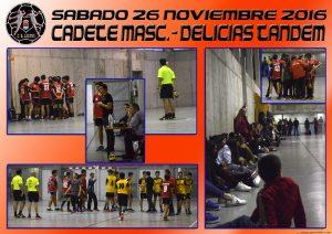 BM Laguna Cadete mas. – CD BM Delicias Tanden