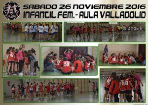 BM Laguna Infantil Fem. – Aula Valladolid