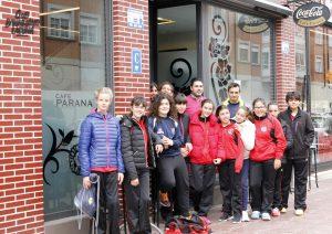 Visita del Bm Laguna Café Parana a su patrocinador