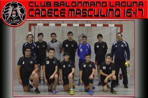 Atletico Valladolid – BM Laguna Cadete Mas.
